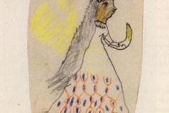 Christkind mit gelben Flügeln 1885,2