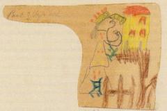 Christkind ohne Flügel 1883,1