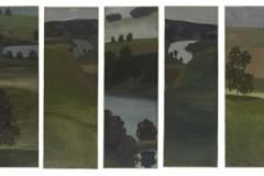 Ohne Titel (Aarelandschaft), 1900
