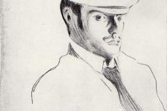 Selbstbildnis, 1899,1