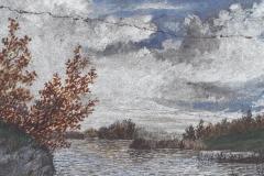 ohne Titel (Landschaft mit Weiher), 1895