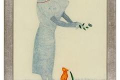 Bildnis einer gefühlvollen Dame, 1906,16