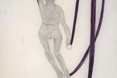 Puppe an violetten Bändern, 1906,14