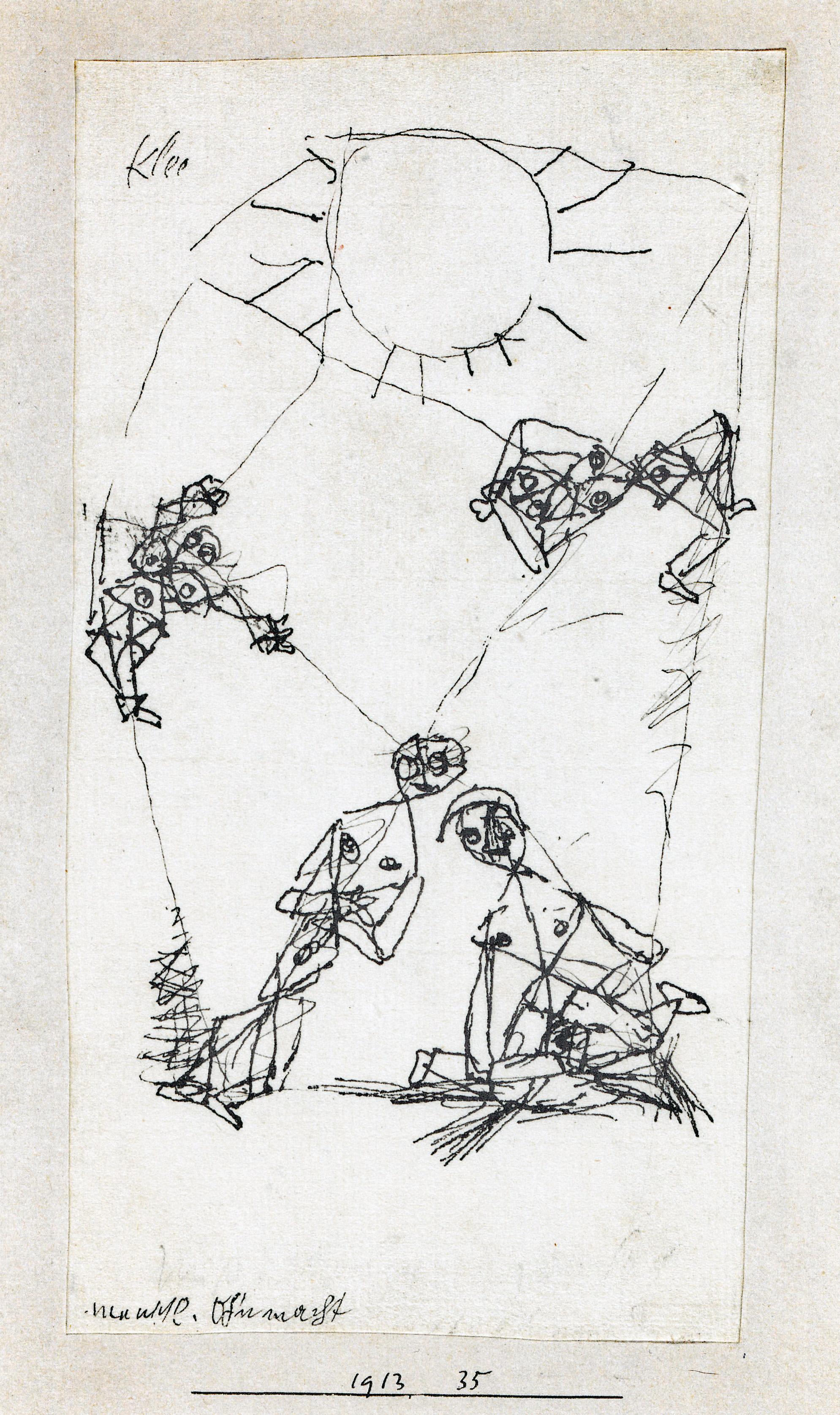 menschl. Ohnmacht, 1913,35