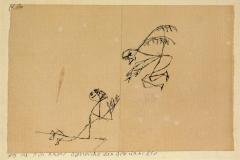 Ein Engel überreicht das Gewünschte 1913, 138