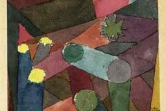 Abstract Garten Dämmerung, 1914, 118