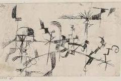 Ohne Titel (abstracte Zeichnung), 1914, 21