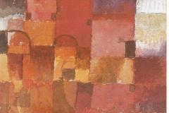 Rote und weisse Kuppeln, 1914,45