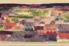 Oberbayerische Landschaft bei Föhn, Ried, 1915, 243