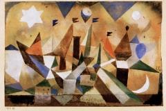 Segelschiffe den Sturm abwartend, 1917, 89_1