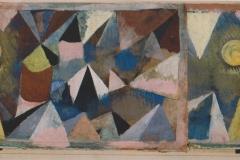 Berglandschaft (zerschnitten und neu kombiniert), 1918, 46