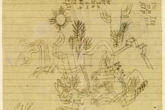 Zeichnung zu 1919_85, 1918, 205