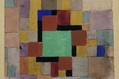 Mit dem grünen Quadrat, 1919,69