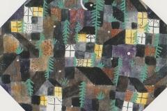 Rhytmie der Fenster und Tannen, 1919,204