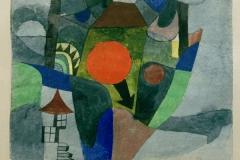 mit der sinkenden Sonne, 1919,247
