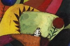 Drei weisse Glockenblumen, 1920,182