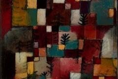 Rotgrüne und violettgelbe Rhythmen 1920,38