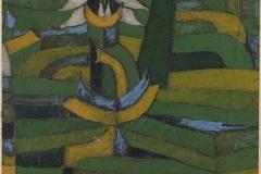 Weisse Blüte im Garten, 1920,196