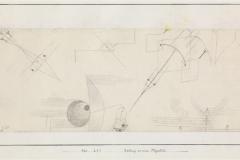 Zeichnung zu einem Flugbild, 1920,231