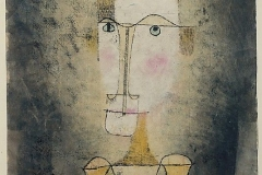 Bildnis eines Gelben, 1921,136