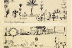 Der Dampfer fährt am botanischen Garten vorbei, 1921,199