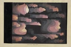 Fuge in Rot, 1921,69