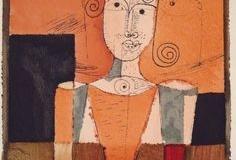 Kleines Bildnis mit Schwarzen Vierecken, 1921,31