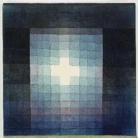 Christliches Grabmal - Kreuzbild, 1923,111