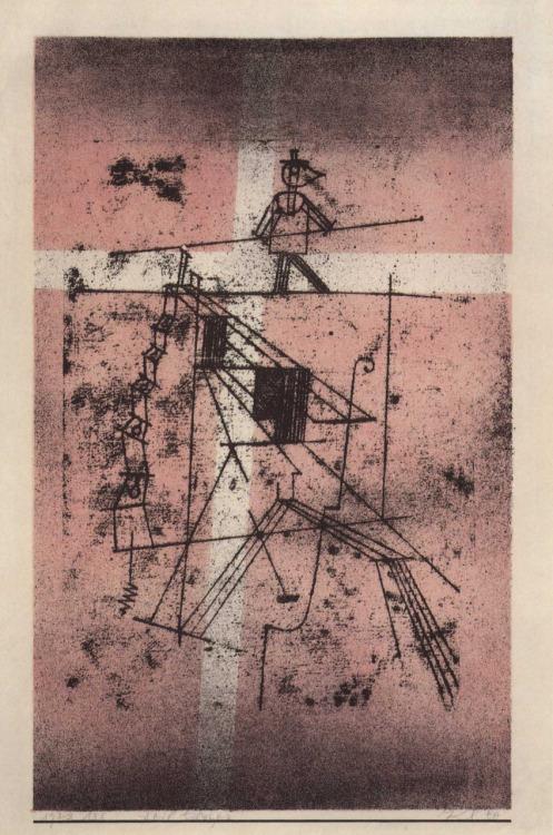 Der Seiltänzer, 1923,138 (Litho)
