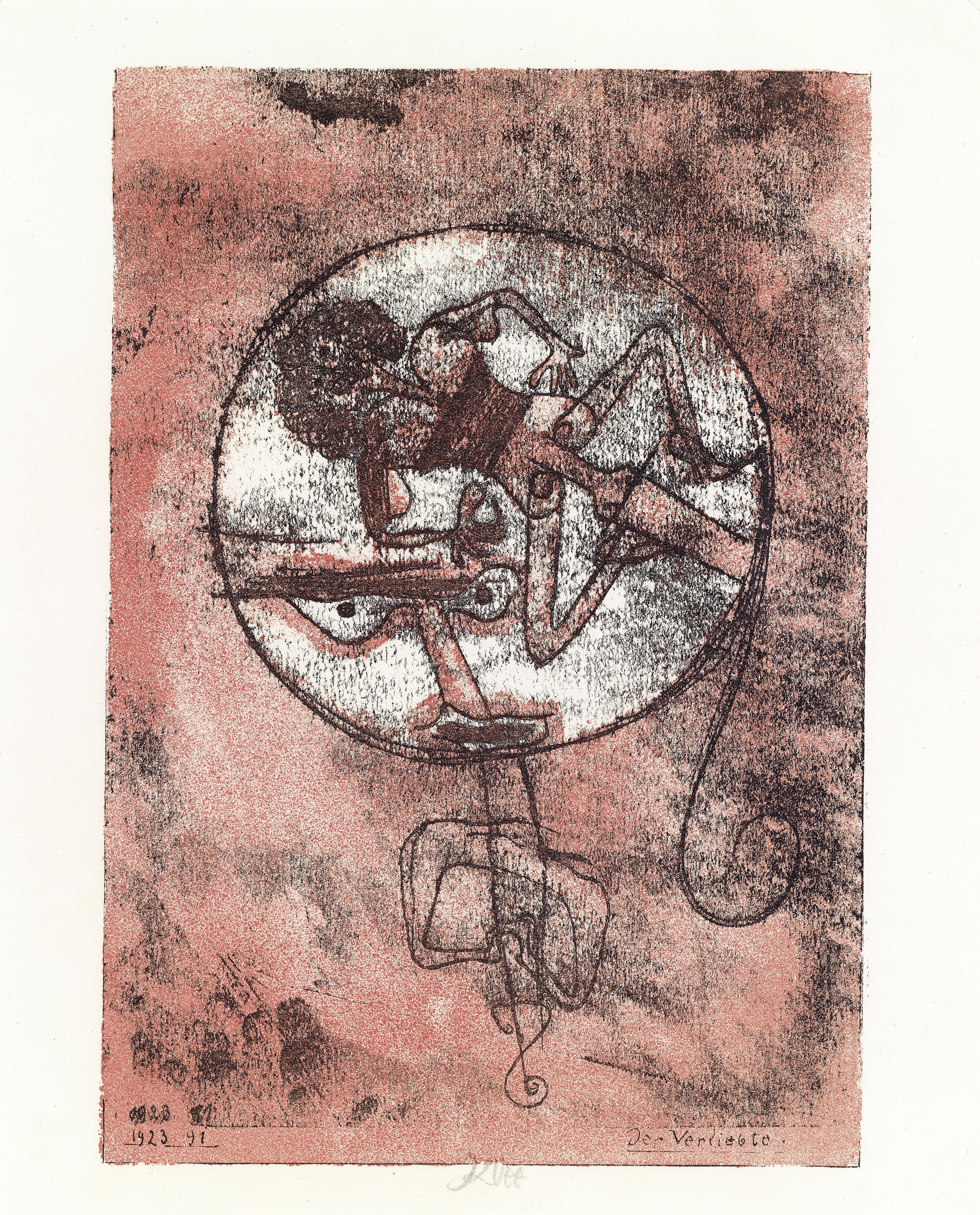 Der Verliebte, 1923,91 (Litho)