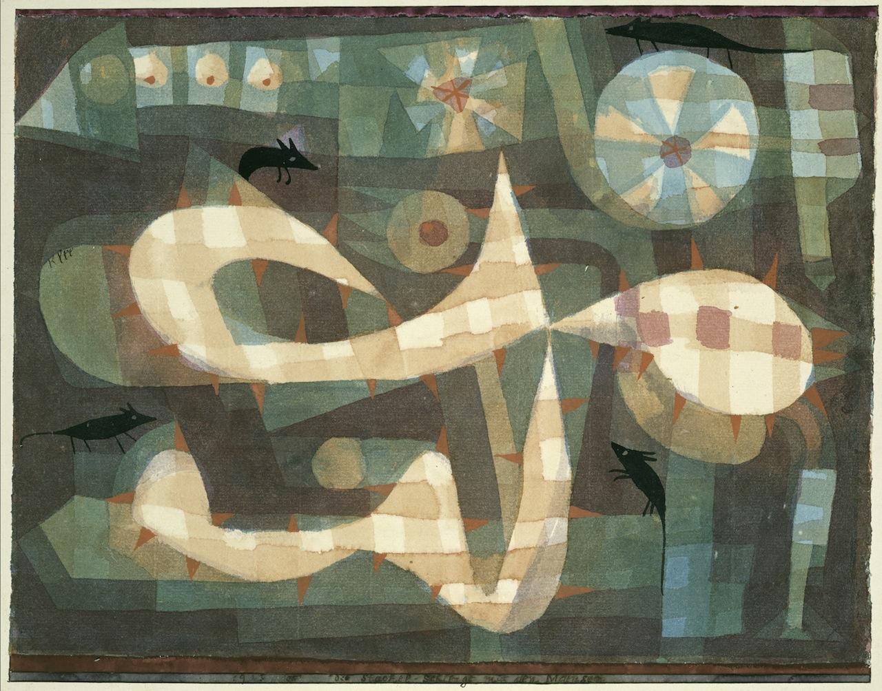 Die Stachel Schlingel mit den Mäusen, 1923,105