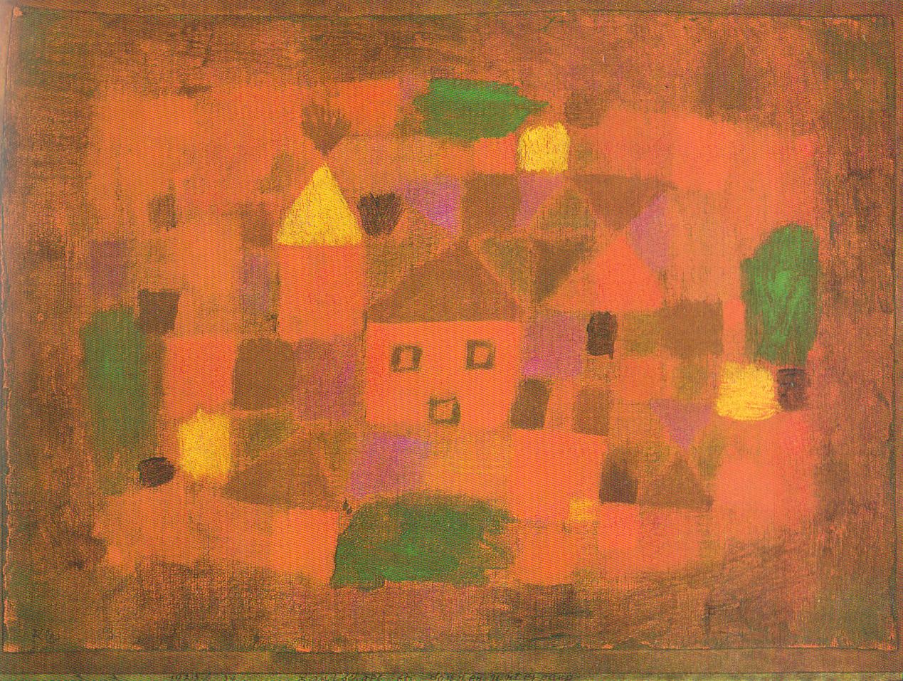 Landschaft bei Sonnenuntergang 1923,34