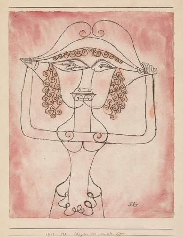 Sängerin der komischen Oper, 1923,118
