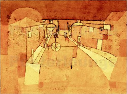 Strasse im Lager, 1923,146