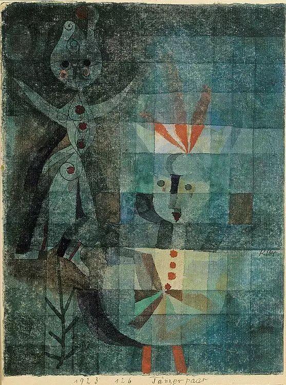 Tänzerpaar, 1923,126