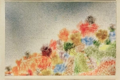 Büsche im Vorfrühling, 1925,71 (Q 1)