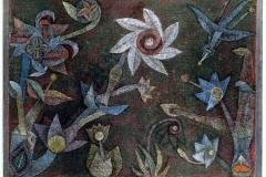 Kreuz- und Spiralblüten, 1925,9
