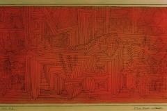 Felsentempel mit Tannen, 1926,12 (K 2)