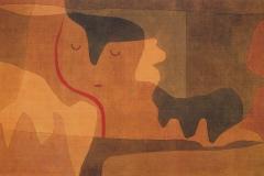 Siesta der Sphinx, 1932,329 (A 9)