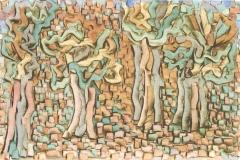 Bäume im Gestein,1933,266 (Y 6)