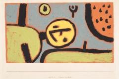 Clown im Bett, 1937,254 (W 14)