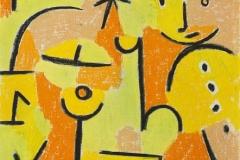 Figur in gelb, 1937,128 (Qu 8)