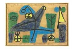 Blauer Tänzer, 1939,852 (UU 129