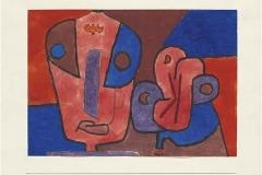Der Clown und seine Blume, 1939,472 (E 12)