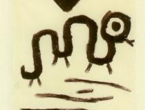 Die biblische Schlange kurz nach dem Fluch, 1940,319 (H 19)