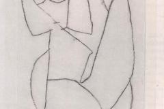 Zweifelnder Engel 1940,341 (F 1)