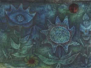 Blüten der Nacht<br/>1930, Paul Klee