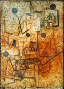 Der Teufel jongliert, 1930, 213, Paul Klee
