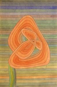Einsame Blüte 1934,5, Paul Klee