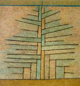 Einsame Tanne 1932,28, Paul Klee